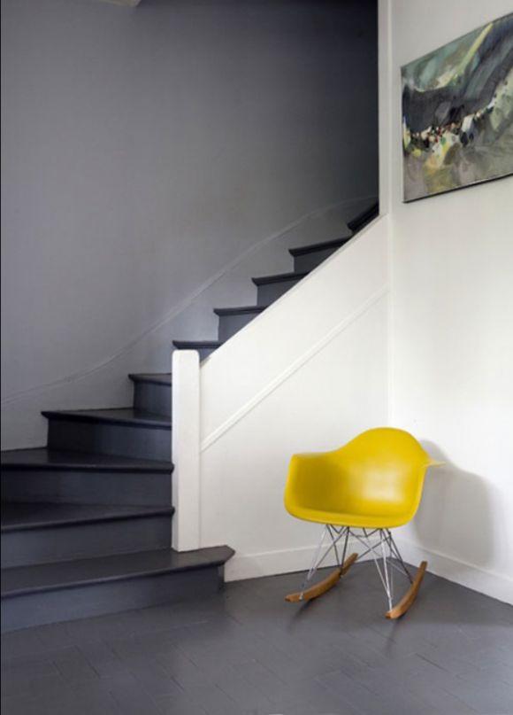 alternatief ideetje: de trap mdf'en en grijs schilderen