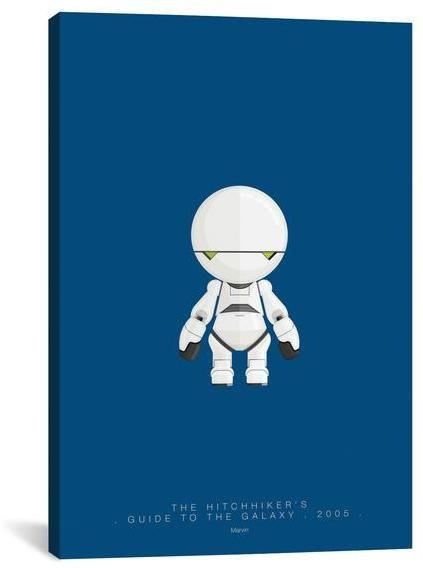 Apt2B Fred Birchal FAMOUS ROBOTS SERIES: THE HITCHHIKER'S GUIDE TO THE GALAXY