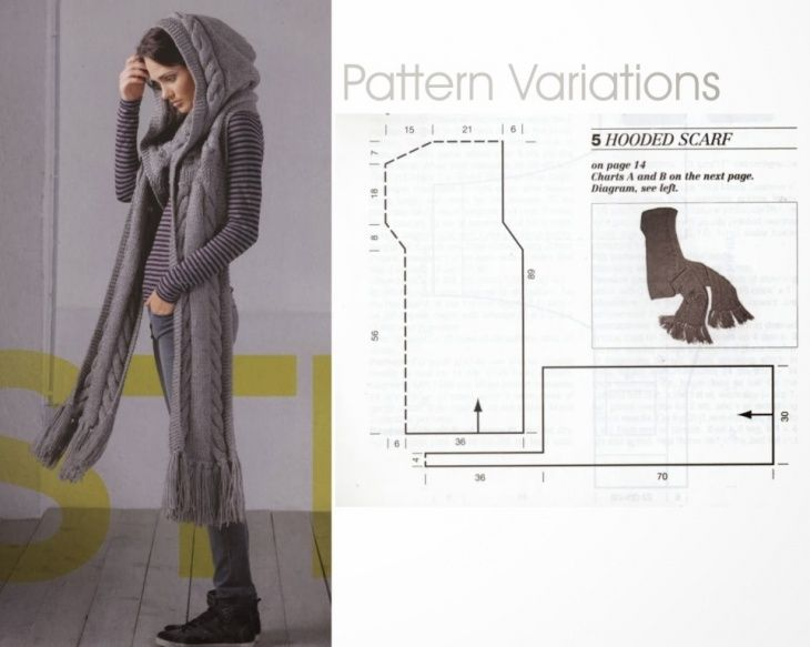 cool site with lots of patterns for knitted and sewn infinity hooded scarves and snoods , just needs google translation Шарф с капюшоном. Обсуждение на LiveInternet - Российский Сервис Онлайн-Дневников