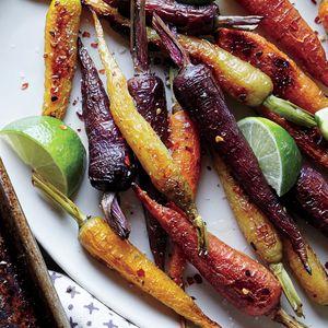 Chile and Lime Roasted Carrots | MyRecipes.com