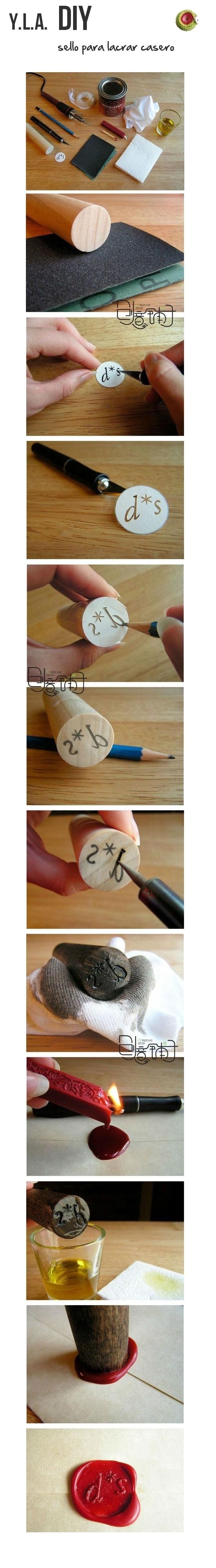DIY Sellos de Cera