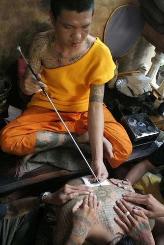 Monk Hand Tattooing
