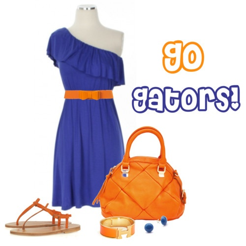 Pretty Florida Gameday outfit!