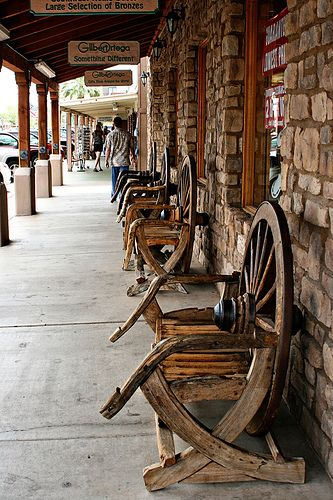 Old Town Scottsdale, AZ- interesting town though suggest price shopping