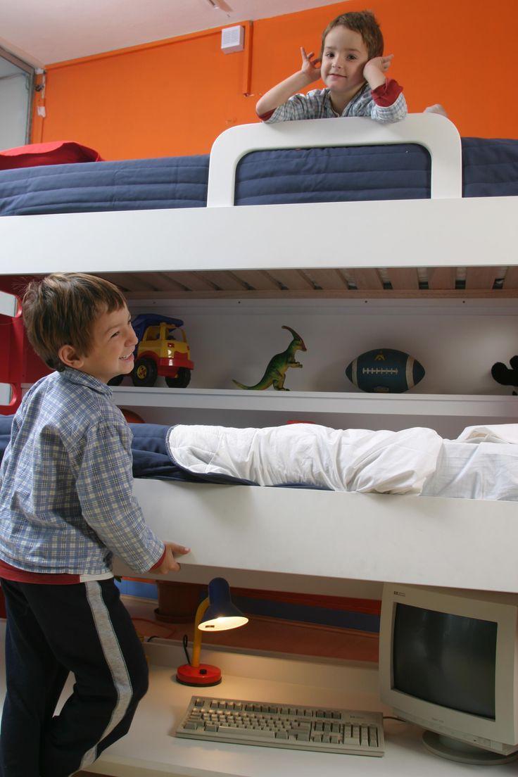Best Hiddenbed S Double Decker Desk Bed The Double Decker 400 x 300