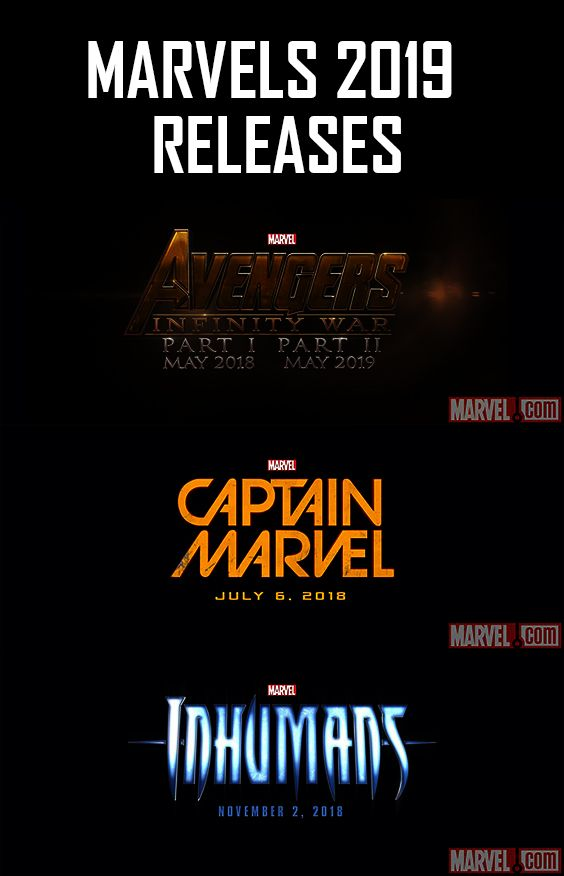 MARVEL - 2019 RELEASING THIS YEAR! #marvel #2019movies