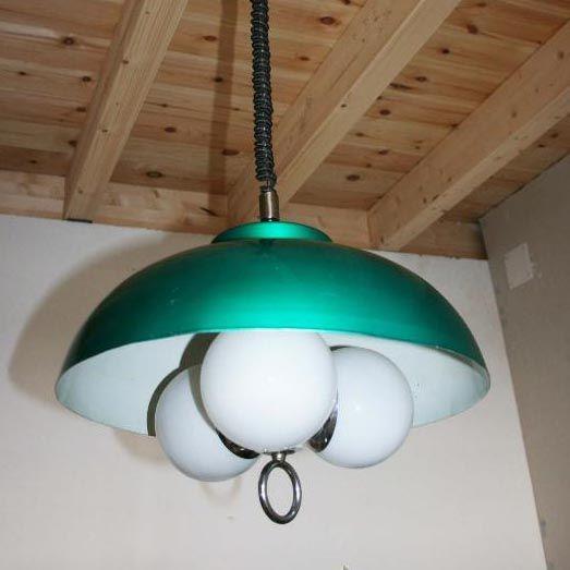 Lámpara de tres globos