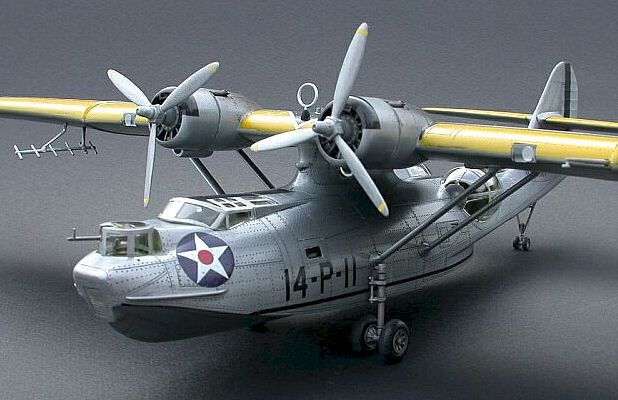 Out of the Big Box: Academy's 1/72nd Scale PBY-5 Catalina