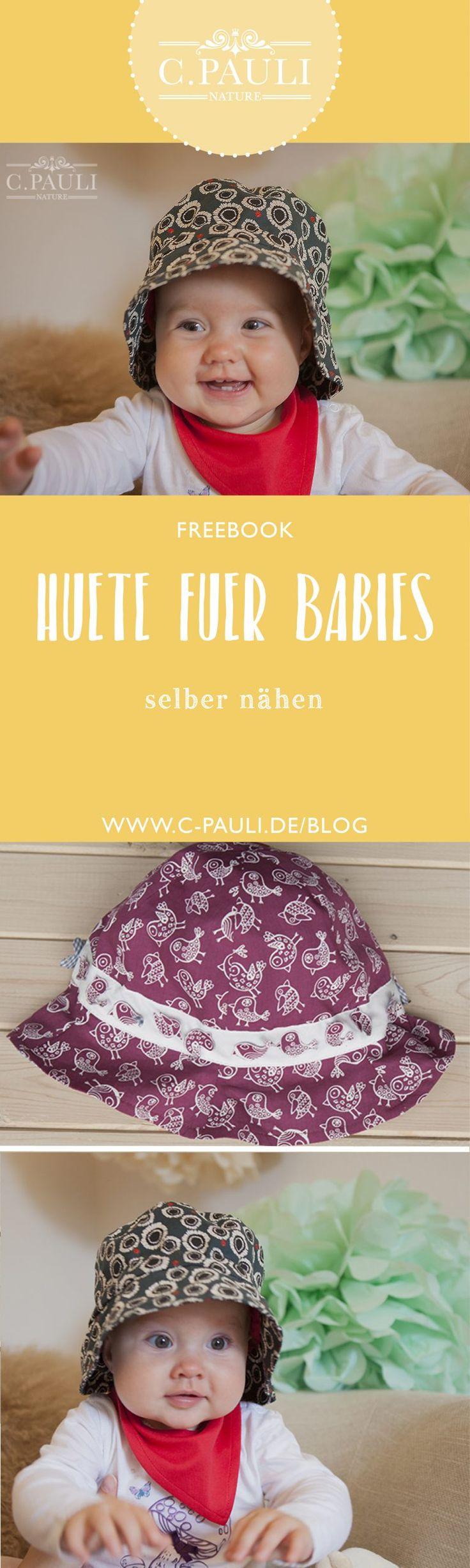 131 best Hüte und Mützen images on Pinterest | Baby nähen ...
