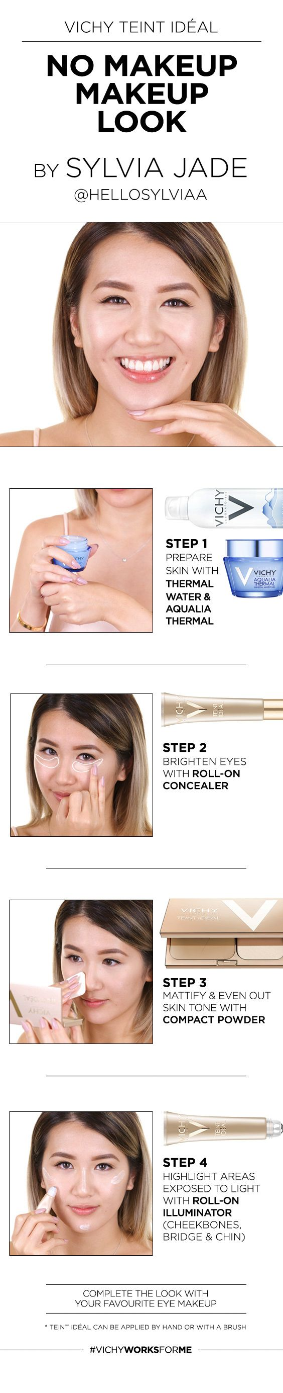 Find out more about Sylvia Jade's Teint Idéal routine: http://www.vichy.ca/en/makeup-teint-ideal-info
