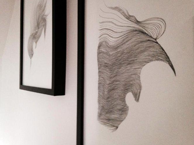Detail // AirCut #02 : 2014 / Staedtler on paper / S.Tusseau