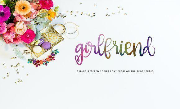 Girlfriend by OnTheSpotStudio on @creativemarket