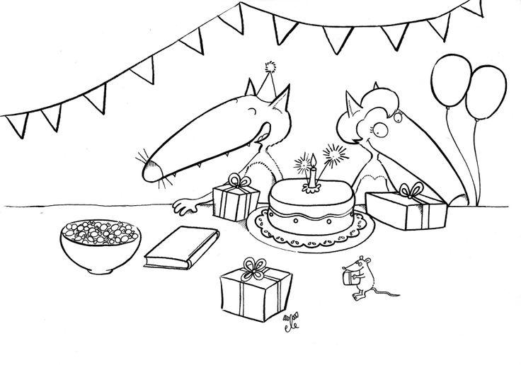 loup anniversaire