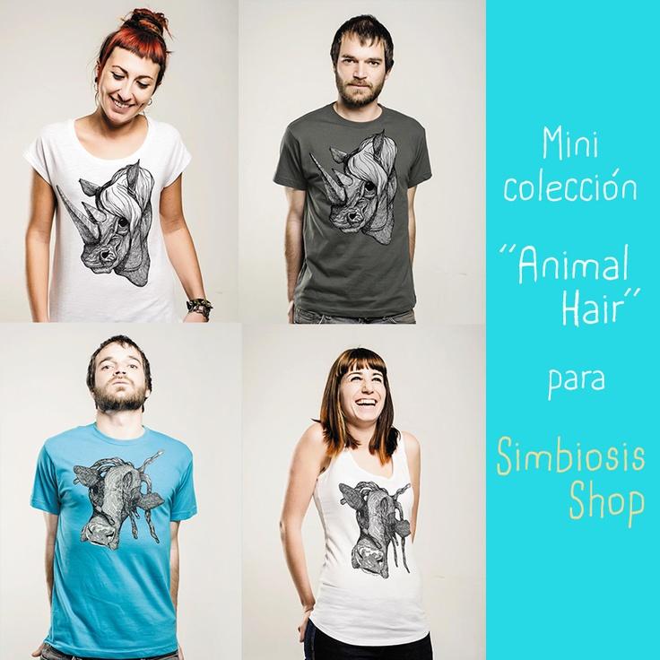 Marivi Trombeta: Mini colección Animal Hair para Simbiosis - Gana una camiseta!!