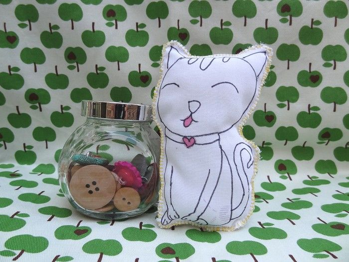 Cathy the Cat Softie/Toy - by TheFlowerGarden on madeit