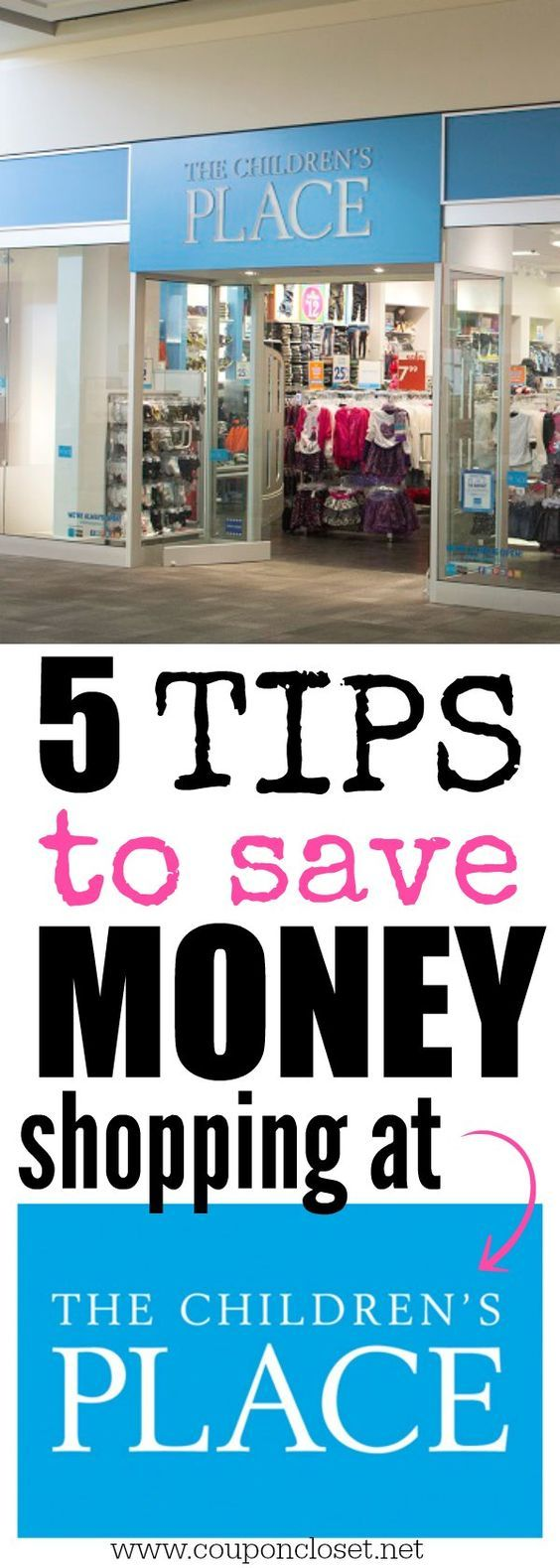 Easy Tips to Save at the Children's Place! the Children's place is one of the best place to find great clothing at great prices, especially after applying these easy tips!
