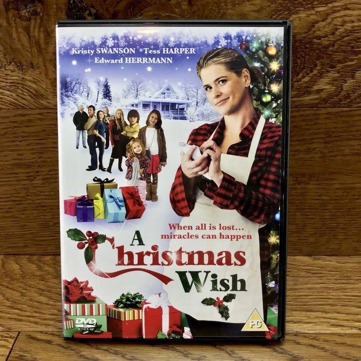 A Christmas Wish DVD Film Movie 2012 Kristy Swanson tess harper edward herrmann