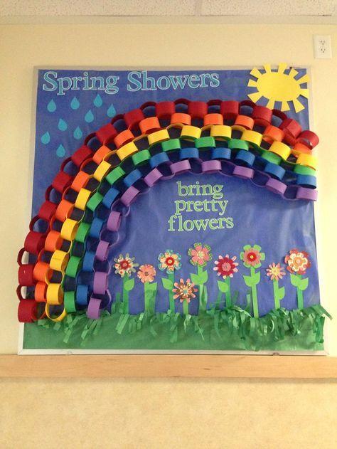 spring preschool, kindergarten, and elementary bulletin boards (3 ...