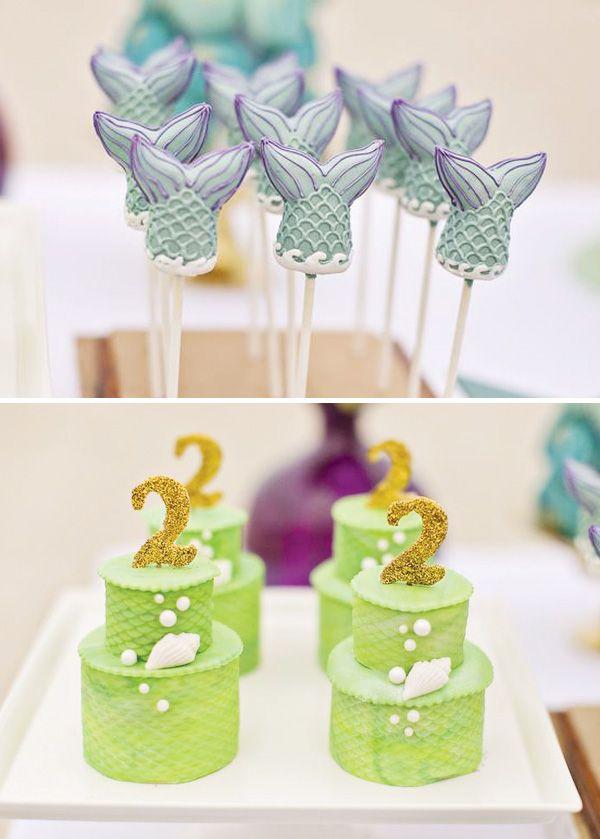 #cakepops #sirena #allestimento #candycorner
