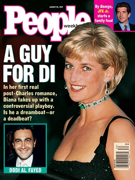 10 of Princess Diana's Best-Remembered PEOPLE Covers | AUGUST 1997: HOWDY, DODI | In the weeks before her death, Diana's romance with Dodi Al-Fayed blossomed: They dined in Paris and vacationed in the French and Italian Rivera.