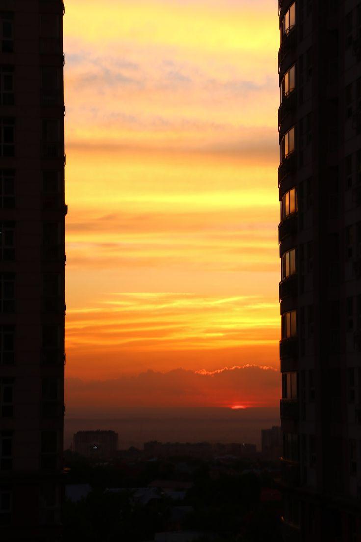 Картинки по запросу закат в городе | Закаты, Город, Картинки