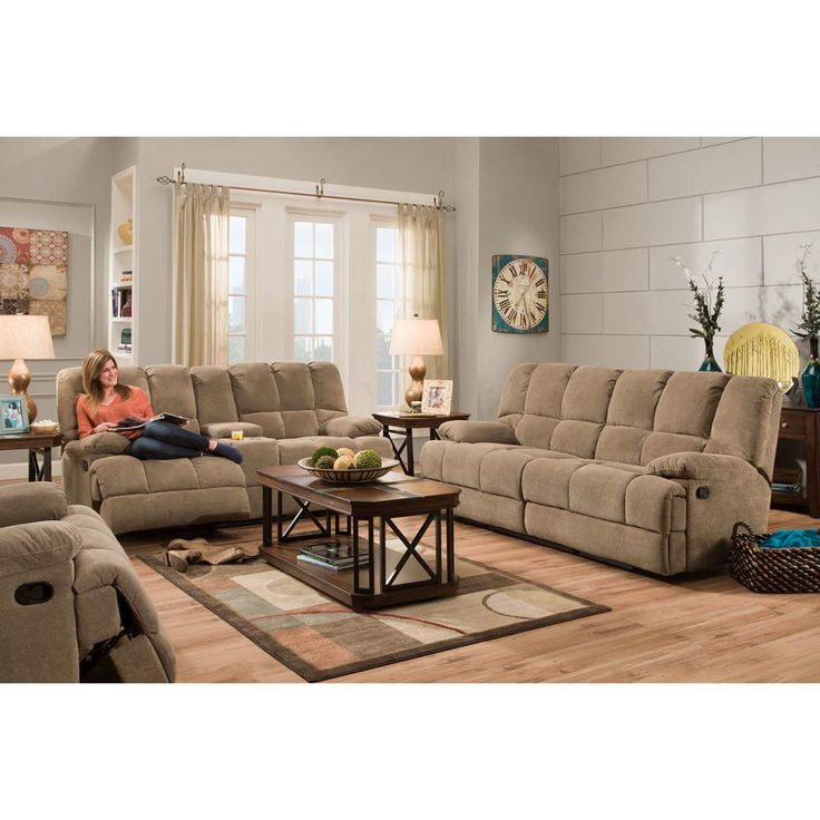 Cheap Sofas Corinthian Charcoal Reclining Sofa and Loveseat u My Furniture Place