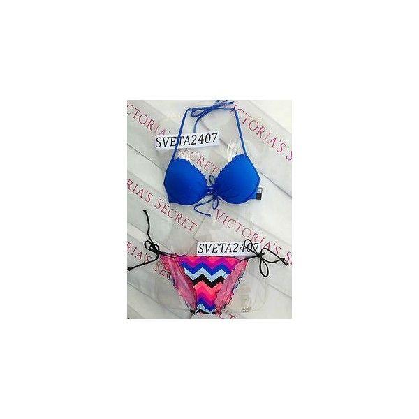 Victoria Secret Swimsuits ❤ liked on Polyvore featuring swimwear, bikini swimwear, swimsuit swimwear, victoria secret bikini, bikini bathing suits and bikini swimsuit