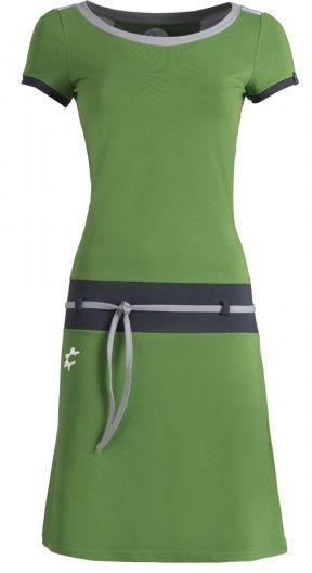 Nina Verde jurk van ZenDee, verkrijgbaar bij Solvejg.nl de webshop voor kleurrijke mode