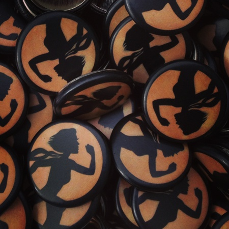 Custom Video Game Buttons for Compulsion Games, Inc - they're upcoming game called Contrast!