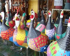 Brazilian paper mache art!