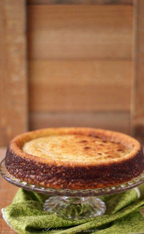 y sigo en la cocina: Torta de ricota exprés