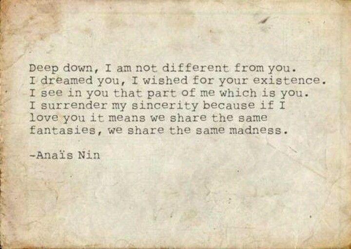 Anais Nin On Domination