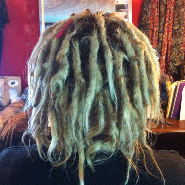 166 best knotted by knature dreadlock studio images on pinterest amanda has 6 month old knotty locs shes getting married on halloween pmusecretfo Images