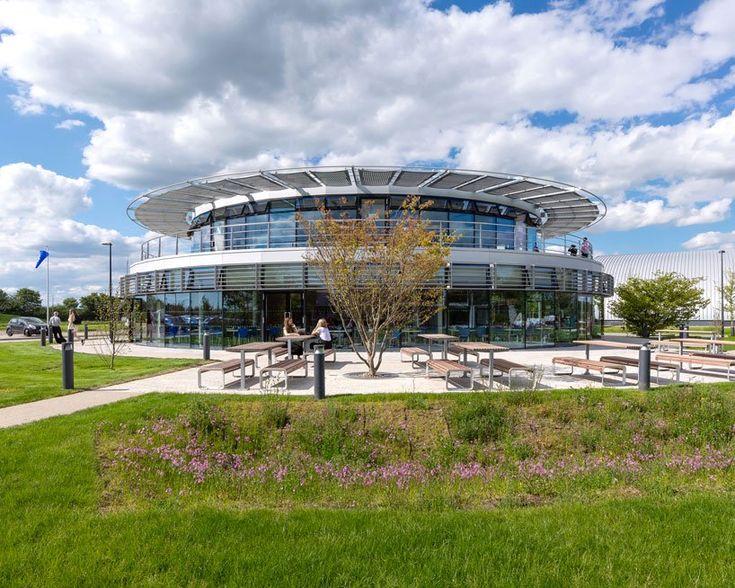 WilkinsonEyre designs a modular student village for dyson