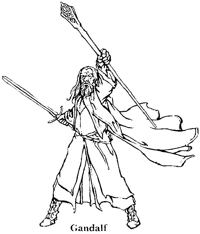 The Hobbit Coloring Pages