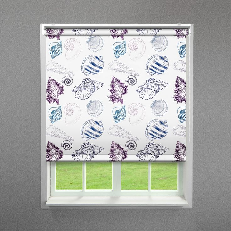 Seashell Design Nautical Roller Blind