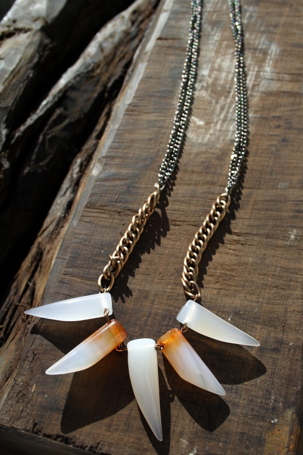 the MAW you wish for... tribal necklace