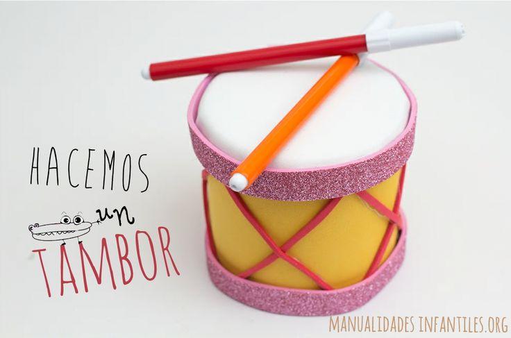 ¡Aprende cómo hacer un divertido tambor de juguete con goma eva y una lata reciclada ! Esta actividad es ideal para los niños pequeños ya que se logra con pocos pasos y además se divertirán un montón mientras elaboran la...