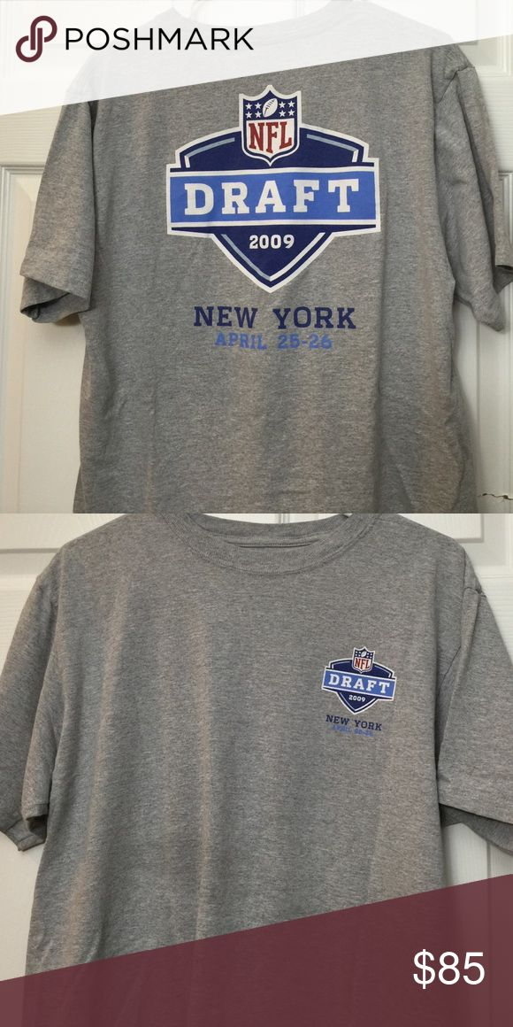 NFL draft shirt Size Large from the 2009 draft nfl Shirts Tees - Short Sleeve