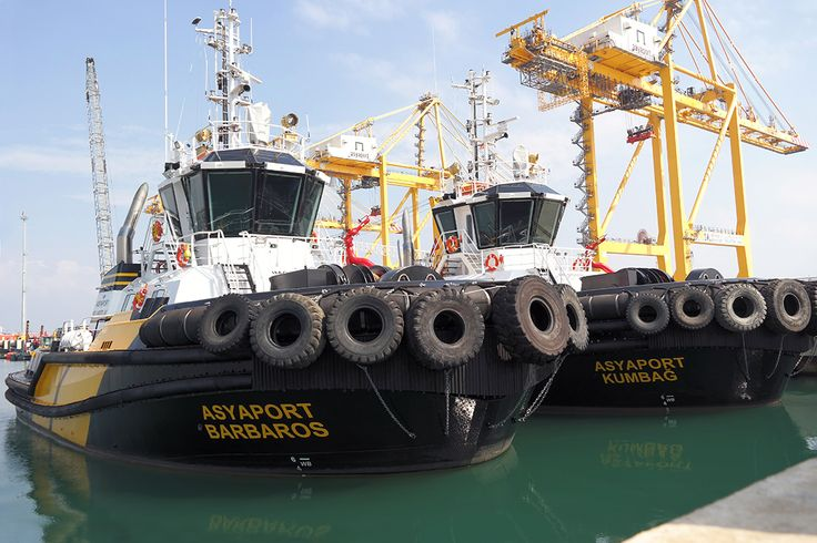 Operations have begun at #Asyaport, a new greenfield container terminal located in Barbaros/Tekirdağ, Turkey. Built by #Asya #Port #Liman A.S, a joint venture between #Global #Terminal Limited, part of the #Mediterranean #Shipping #Company (MSC) group, and the Turkish Soyuer family, the port's berthing and unberthing operations are being carried out by a pair of #Bogacay