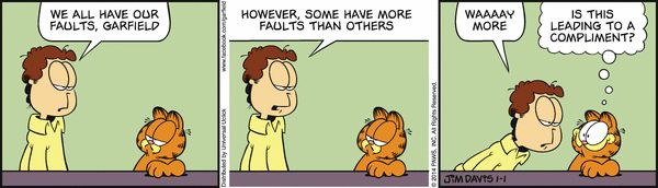 Garfield for 1/1/2014 | Garfield | Comics | ArcaMax Publishing