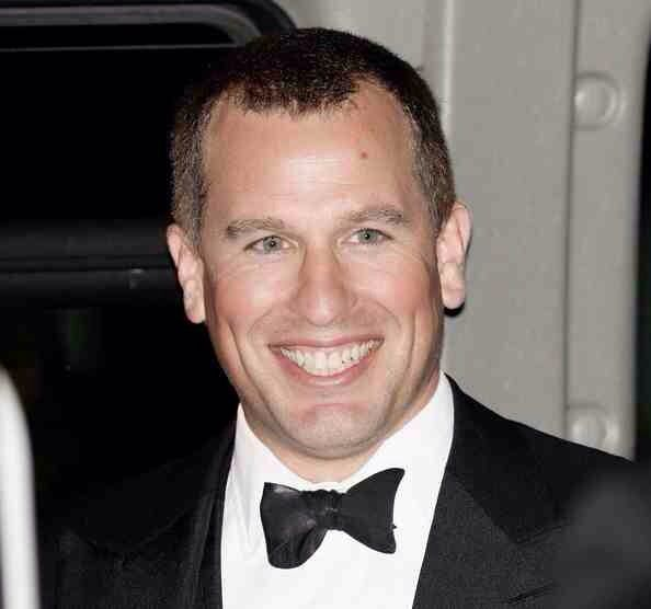 The Queens eldest Grandchild , Peter Phillips (born 14th November 1977).... Son of Princess Anne and Cpt Mark Phillips)