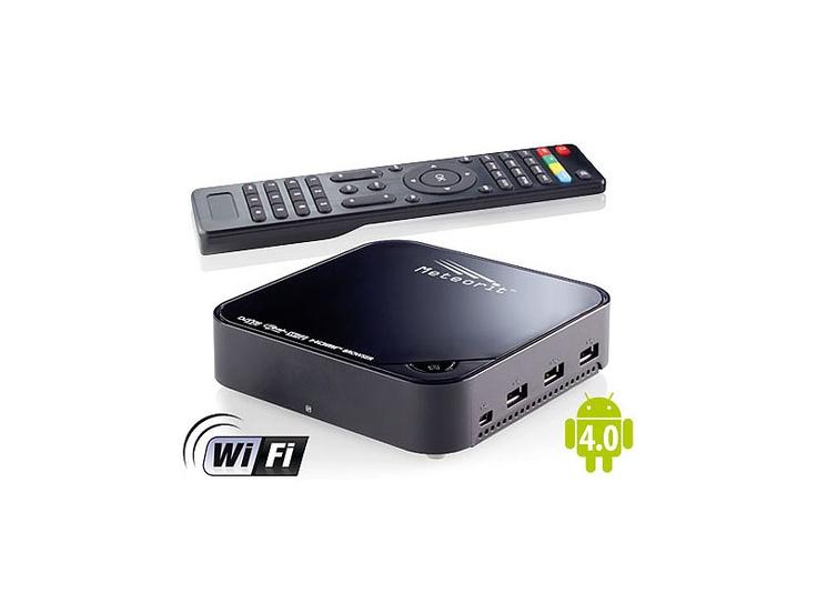 Meteorit Android-Internet-TV-Box mit DVB-S2-Receiver MMB-525.SAT