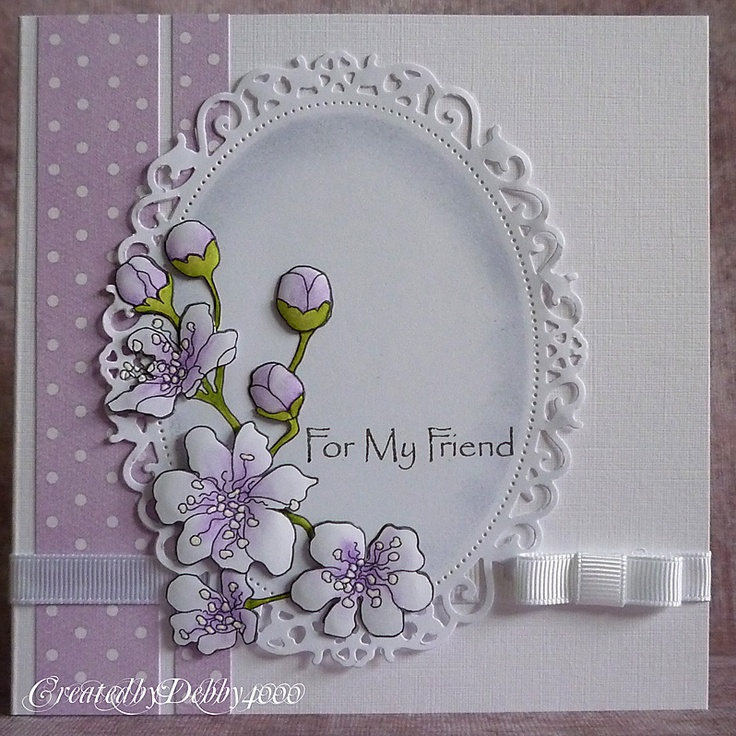 Flower Card Making Ideas Part - 15: A Scrapjourney · Friendship CardsDie ...