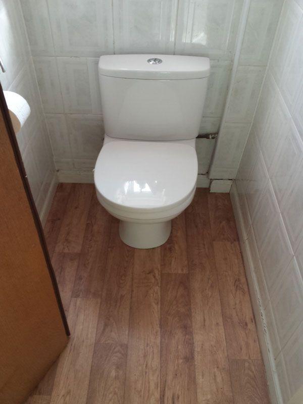 Bathroom Flooring Ideas Uk Part - 26: Vinyl Flooring For A Separate WC In A Installation Project By UK Bathroom  Guru