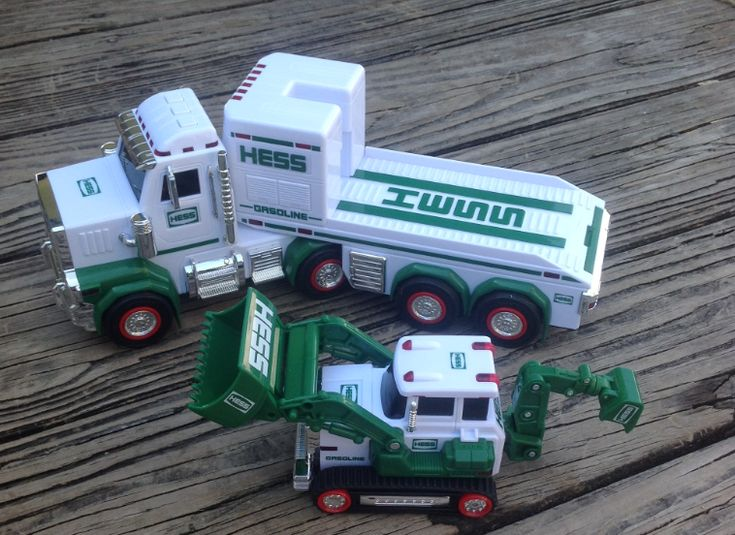 2013 Hess Truck. Great tradition my grandmother buys her great grandsons the Hess trucks every year.