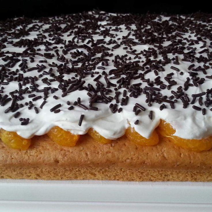 Mandarinenkuchen Rezept Mandarinenkuchen Blechkuchen Und Thermomix