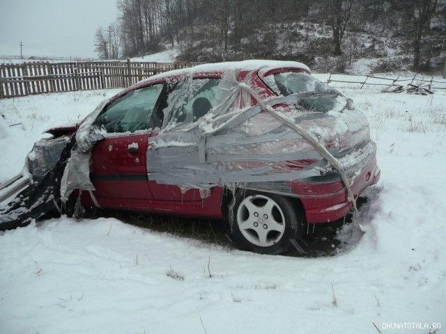 Peugeot 206 avariat de vanzare