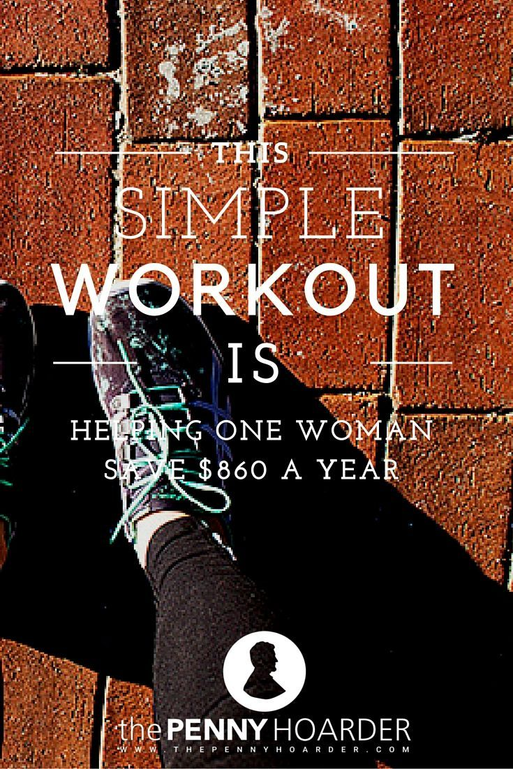 This woman decided to ditch her gym membership and start running… and it's helping her save almost $1,000 a year. Here's how she made the switch. - The Penny Hoarder http://www.thepennyhoarder.com/running-cheapest-gym-membership/