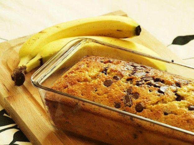10 recettes succulentes à faire avec des bananes trop mûres - Banana bread